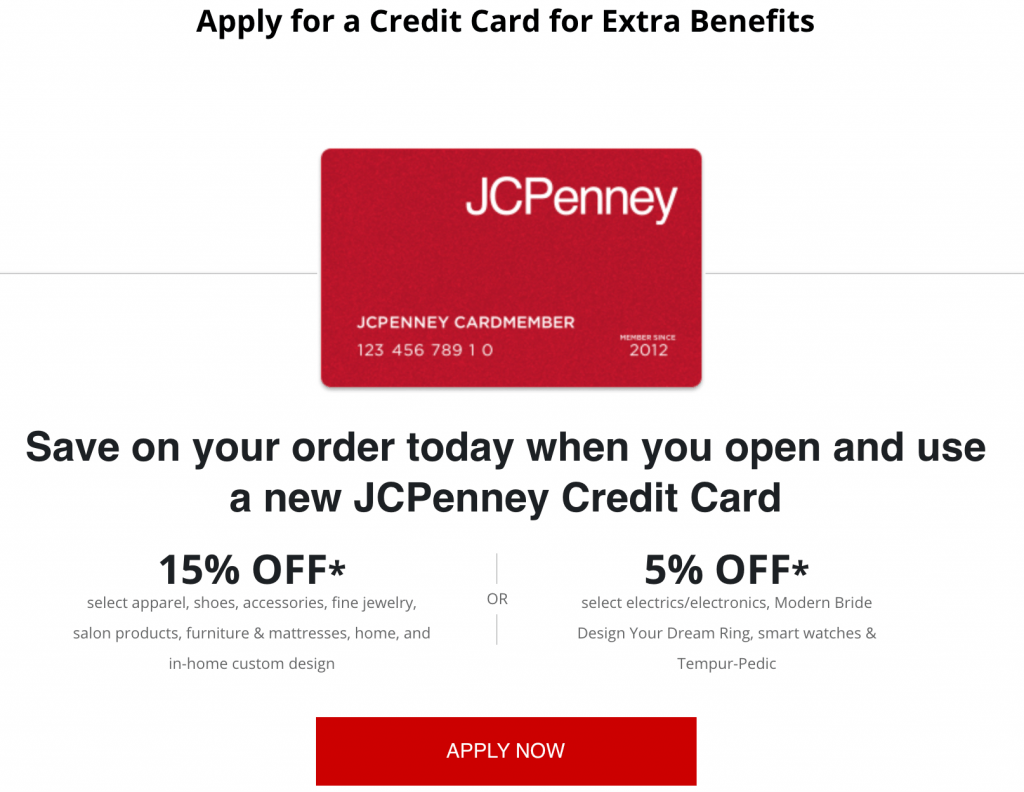 apply for jcpenny credit card
